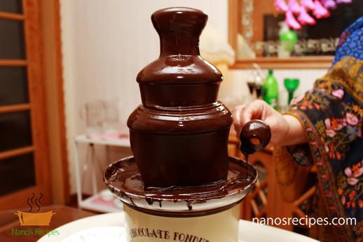 Chocolate Fountain Nano S Recipes